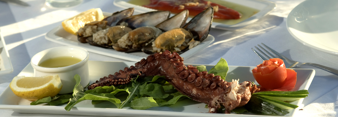 Seafood in Marmaris Turkey