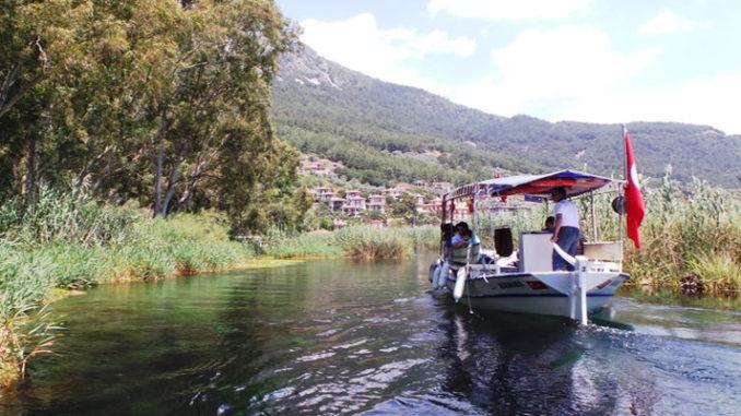 Akyaka Azmak River Boat Trip