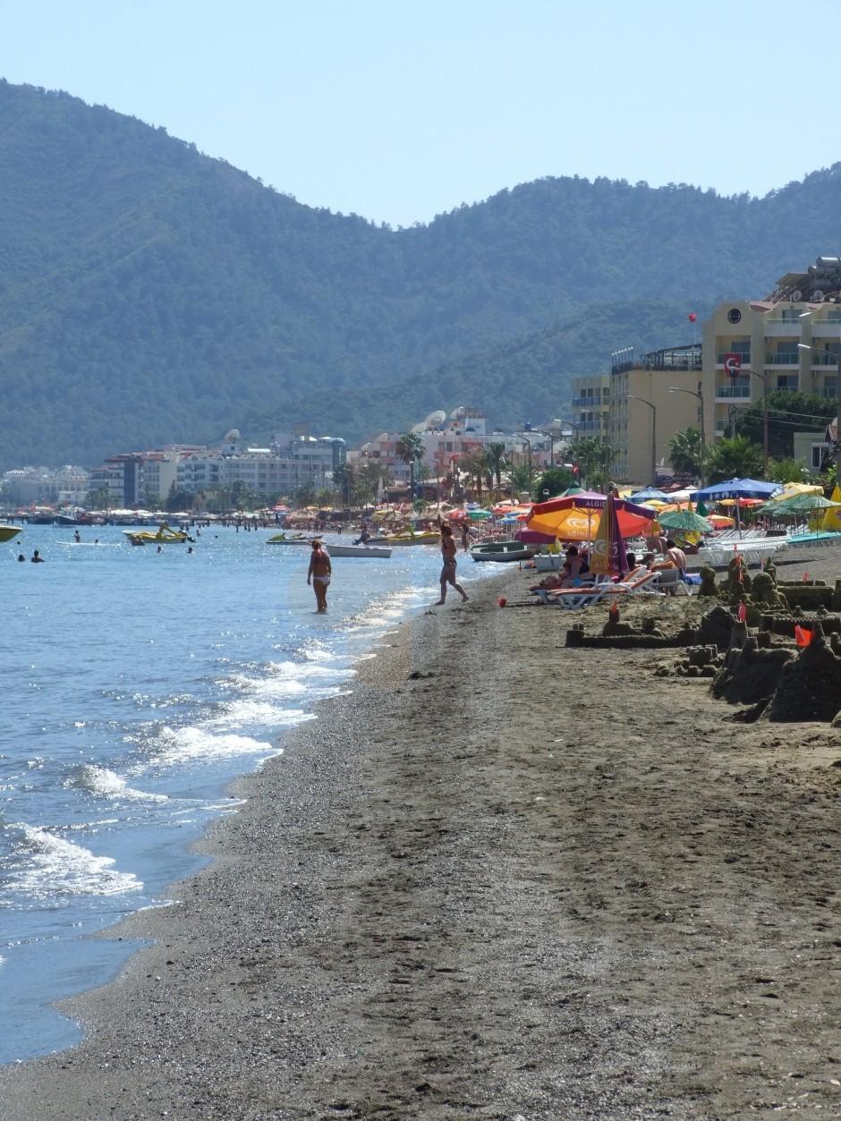 Мармарис фото городской пляж