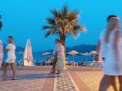 Marmaris Summer Evening Actual Footage