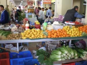 marmaris market stall