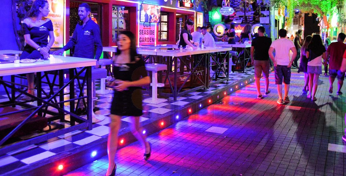 Marmaris Bar Street Nightlife Marmaris Turkey
