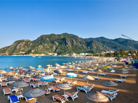 Marmaris Icmeler Beach