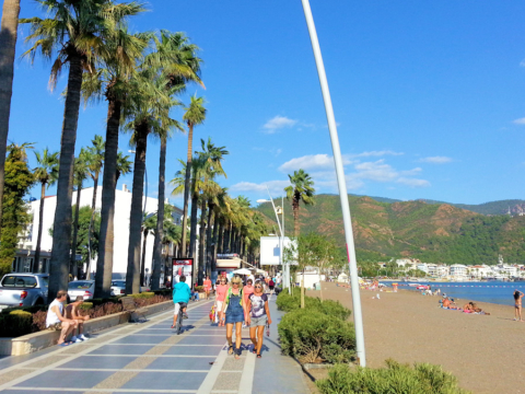 Marmaris Promenade and Beach