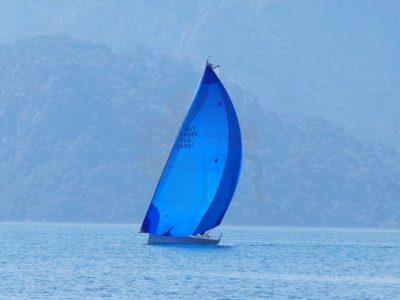 Sailing in Marmaris Bay