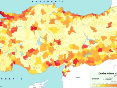 Turkey Population Map