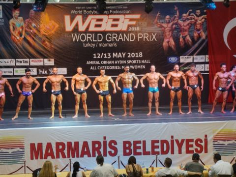 Marmaris World Bodybuilding Fitness Grand Prix