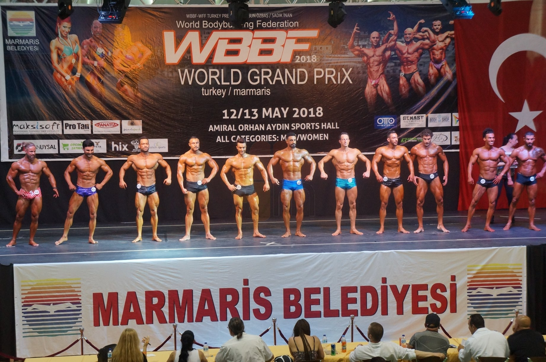 Marmaris World Bodybuilding Fitness Grand Prix