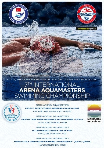 Marmaris International Arena Aquamasters Swimming Championship