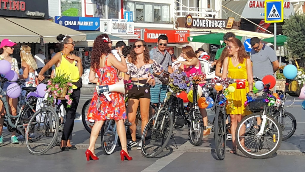 Marmaris Fancy Women Bike Ride