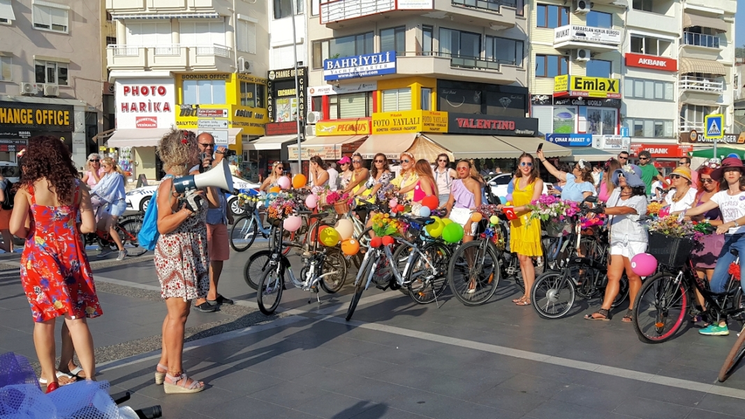 Marmaris Fancy Women Bike Ride