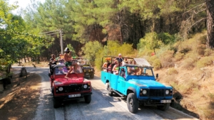 A view from Marmaris Jeep Safari
