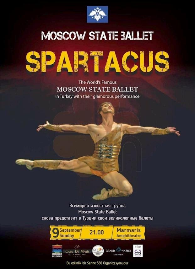 Marmaris amphitheatre ballet Spartacus