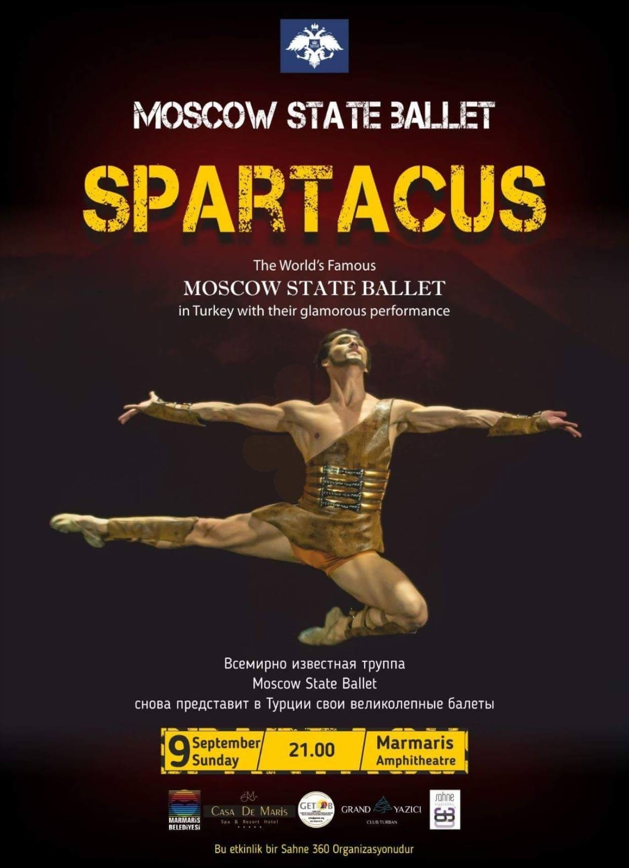 Balett Spartacus by Moscow State Balett