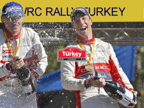 WRC Rally Turkey Award Ceremony