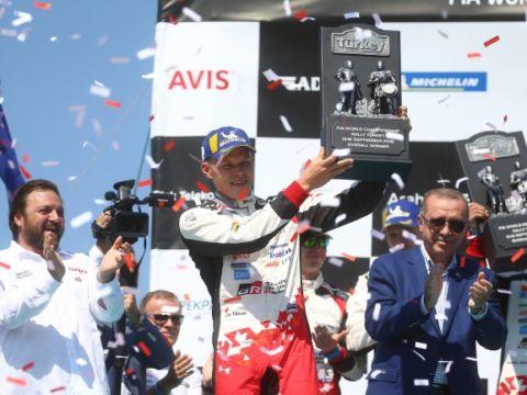 WRC Rally Turkey winner