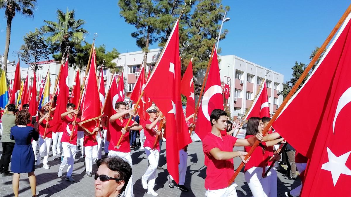 Marmaris 29 Ekim Cumhuriyet Bayrami