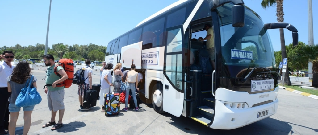 Marmaris Dalaman Airport Scheduled Bus Services