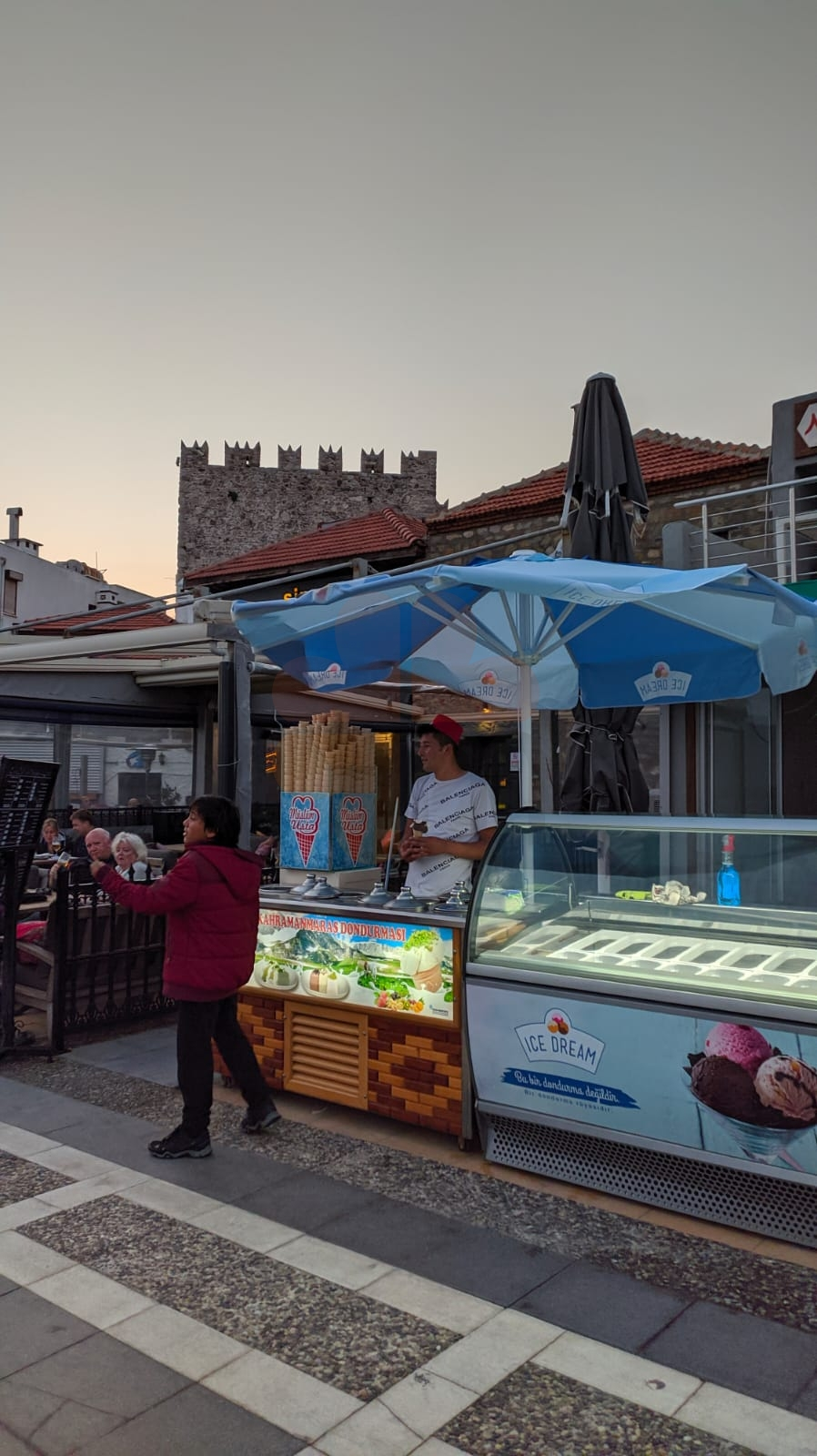 Marmaris ice cream sellers