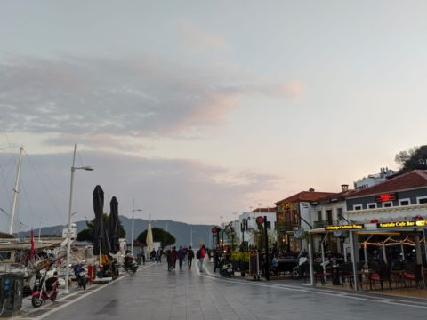 Marmaris by evening