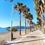 Seaside promenade in Marmaris