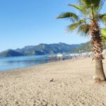 Surreal Morning View on the Long Beach Marmaris