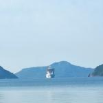 MSC Seaview gorgeously sailing to Marmaris
